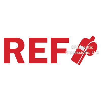 Referee Window Decal