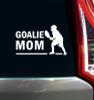 Lacrosse Goalie Mom Male Window Decal