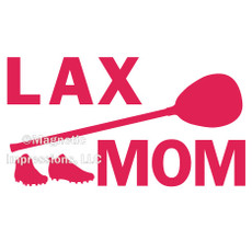 Lax Goalie Mom Gear Window Decal