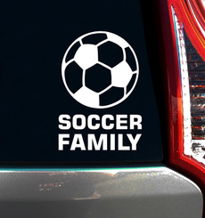 Soccer Family Window Decal