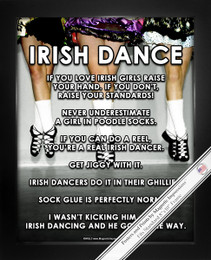 Framed Irish Dance 8x10 Sport Poster Print
