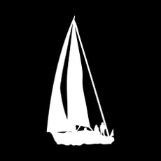 Sailboat Window Decal