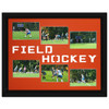 Field Hockey Photo Mat in Orange. Frame and photos not included.