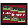 Field Hockey Photo Mat in Red. Frame and photos not included.