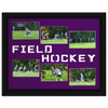 Field Hockey Photo Mat in Purple. Frame and photos not included.