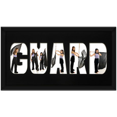 Guard 10 x 20 Photo Mat Framed