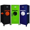 Basketball Mini Locker Trio