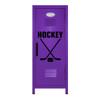 Ice Hockey Mini Locker Purple