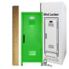 Mini Locker Lime. Ruler not included.
