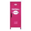 Football Mini Locker Hot Pink