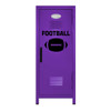 Football Mini Locker Purple