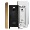 Mini Locker Black. Ruler not included.