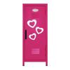 Hearts Mini Locker Hot Pink