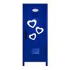 Hearts Mini Locker Blue