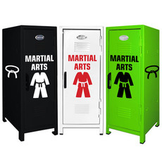 Martial Arts Mini Locker Trio