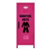 Martial Arts Mini Locker Hot Pink