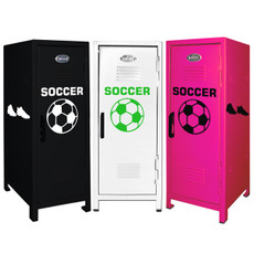 Soccer Mini Locker Trio