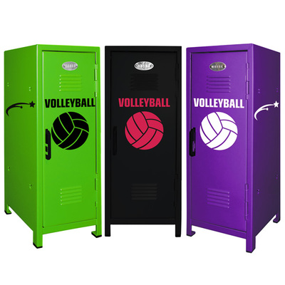 Volleyball Player Mini Locker Trio