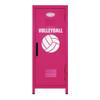 Volleyball Mini Locker Hot Pink