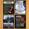 Poster Prints Personalized with Team Names
