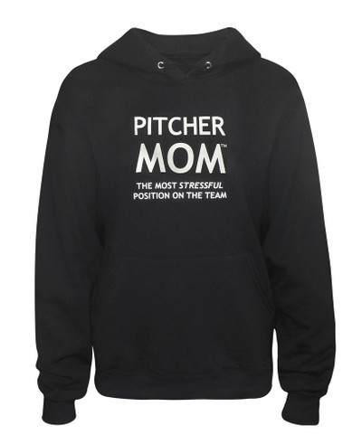 Women's Pitcher Mom Hoodie Sweatshirt