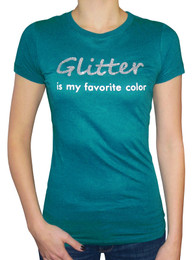 Women's Glitter is my Favorite Color T-Shirt