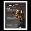 "Modern Dance 13.75"" x 17"" Dance Wall Decal"