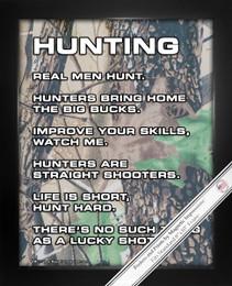 Framed Hunting 8x10 Sport Poster Print