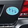 Synchronized Swimming Car Magnet on Car