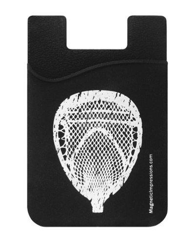 Lacrosse Goalie Head Cell Phone Wallet