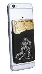 Ice Hockey Player Cell Phone Wallet. Phone and cards not included.
