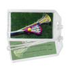 Lacrosse Women's Sticks Photo Plastic Luggage Tag front and back