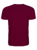Men's T-Shirt Back View - Maroon
