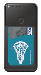 Lacrosse Head Girl's Cell Phone Wallet. Phone and cards not included.