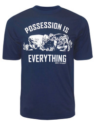 Men's Lacrosse Possession is Everything Saying Performance T-Shirt