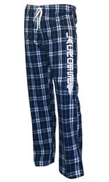 Men's Lacrosse Flannel Plaid Pajama Lounge Pants