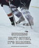Unframed Ice Hockey Success Quote 8 x 10 Sport Poster Print