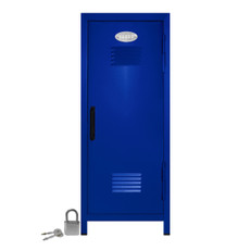 Kid's Mini Locker with Lock and Key in Blue