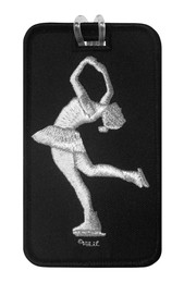 Figure Skater Layback Luggage Tag