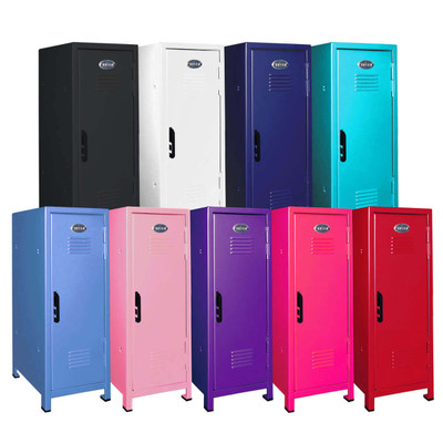 Mini Lockers in assorted colors. Availability may vary.