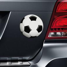 Soccer Ball Magnet on Car