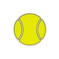 Tennis Ball Printed Car Magnet