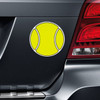 Tennis Ball Printed Car Magnet on Car