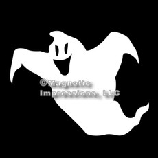 Ghost Halloween Car Magnet