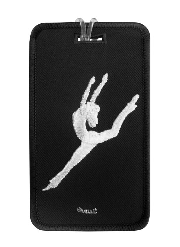Contemporary Jazz Dancer Luggage Tag