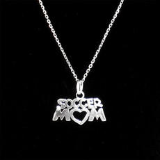 Soccer Mom Sterling Silver Charm