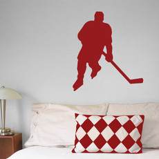 Ice Hockey Male Wall Décor