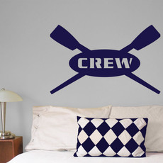 Crew Wall Décor in Blue