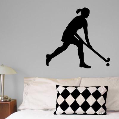 Field Hockey with Skirt Wall Décor