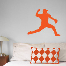 Baseball Pitcher Wall Décor